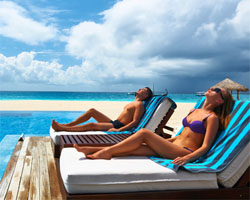 Timeshare beach vacations in Aruba and Hawaii